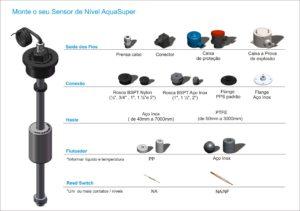 chave de nivel sensor de nivel