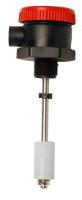 Sensor de Nivel ou boia de nivel vertical para liquidos