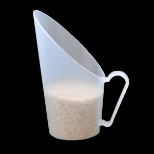 concha dosadora para grãos